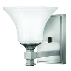 "Hinkley Lighting 5850 1 Light 6.75"" Width Bathroom Sconce from the Abbie Collect"