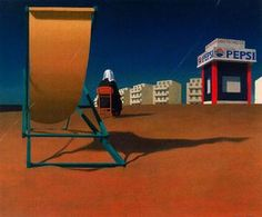 Jeffrey Smart - sans titre (889) Australian Artists, Australian Painters, Fernand Leger, Jeffrey Smart, Art For Art Sake, Critic, Urban Landscape, Sky, Fine Art