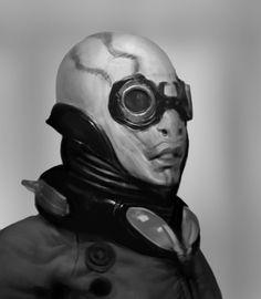Abe Sapien by Robotpencil on deviantART Abe Sapien, Anthony Jones, Creature Design, My Eyes, Science Fiction, Comic Art, Creatures, Deviantart, Superhero