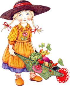 Garden Girl by Mary Engelbreit