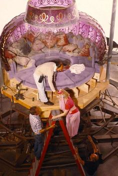 Behind the scenes of  I Dream of Jeannie.