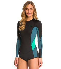 3e8160f54e O Neill Women s Skins Long Sleeve Surf Spring Suit Wetsuit at  SwimOutlet.com - Free Shipping