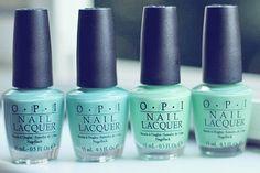 Pretty turquoise...