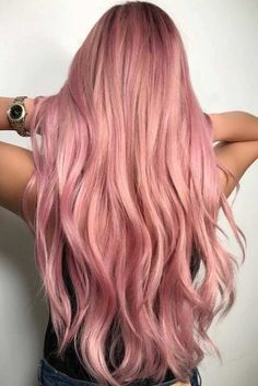 Top Tips to Experiment with a Rose Gold Hair Color ★ See more: http://lovehairstyles.com/rose-gold-hair/