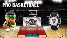Professional basketball sports merchandise.