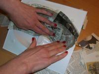 Papírmasé készítés technikája