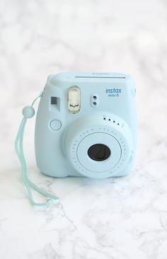 Fujifilm Instax Mini 8 Camera + Film Blue | Beginning Boutique shop new @ www.bb.com.au/new  #BBFEST #beginningboutique ESSENTIAL!!