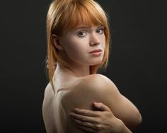 Lovely redhead girl from St. Petersburg