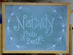 Nativity Photo Booth: Get those Christmas Program costumes out of storage and let the kids play dress up at your next church or school event!  Makes fun family pictures, too!