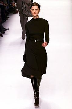 Céline Fall 2002 Ready-to-Wear Fashion Show - Michael Kors, Anouck Lepère