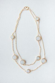 Fogged Jewel Necklace