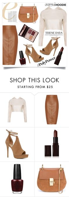 """""""Cute Trend: Cropped Hoodies"""" by gold-candle23 ❤ liked on Polyvore featuring Bailey 44, ALDO, Laura Mercier, OPI, Chloé and Charlotte Tilbury"""