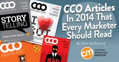Over the last 12 months, CCO magazine doubled down on content marketing strategy for executives. Its editor shares her favorite articles as well as a few behind-the-scenes publishing debates, and why she had to watch Netflix for work.  Fantastic round-up on content marketing from the year #contentmarketing #CMI #content