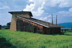 fujimori-terunobu-jinchokan-moriya-historical-museum-exterior