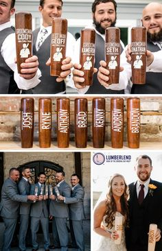 This is the product that combines three of our favorite  things: Weddings, Baseball, and Beer. These drinking mugs are handcrafted from start to finish and can be customized however you'd like! Engrave names, text, logos, signatures, and even photographs to create the perfect memento of your big day, for years to come. Cheer to forever! Wedding Prep, Wedding Goals, Our Wedding, Wedding Planning, Dream Wedding, October Wedding, Autumn Wedding, Bridal Shower Rustic, Rustic Wedding