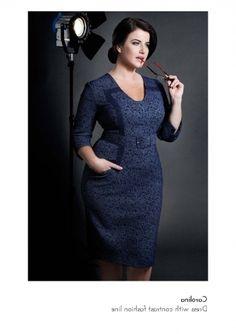good quality plus size winter dress