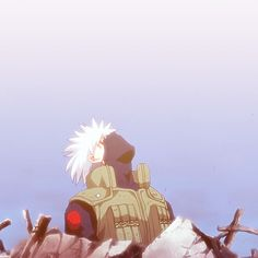 Hatake Kakashi's death | Nooooo.... I cried my eyes out when I saw this. T_T