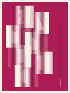 Zammuto Poster by Jason Munn Graphic Design Layouts, Graphic Design Posters, Graphic Design Illustration, Graphic Design Inspiration, Typography Design, Layout Design, Id Design, Cover Design, Plakat Design