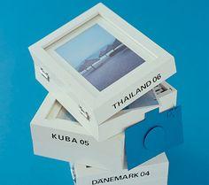 Selbst gemachte Fotobox - Urlaubserinnerungen 5 - [LIVING AT HOME] Perfekt für unsere vielen Fotos und Erinnerungen, die sonst nicht in normale Fotoalben passen!