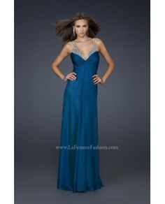 Jovani Prom -La Femme 17019 prom dress - Lafemme 2012 - lafemme17019 - US$164.02 - english