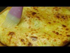 Khachapuri hotové během minutky - mnohem lepší než pizza!| Chutný TV - YouTube Bread Recipes, Snack Recipes, Snacks, Bulgarian Bread Recipe, Pan Relleno, Pizza, Cheese Bread, English Food, Empanadas