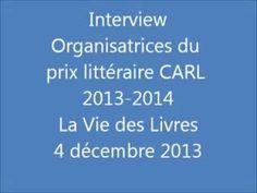 Interview des organisatrices du prix littéraire CARL 2013-2014, étudiantes de 2e année en Information Communication à l'IUT B de Tourcoing.