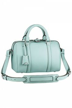 Louis Vuitton Sofia Coppola BB bag in Minty Blue as seen on Dakota Fanning