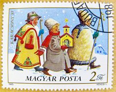 Hungarian Christmas Stamp
