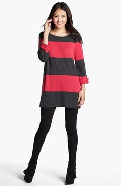 Caslon® Knit Tunic (Regular & Petite) | Nordstrom