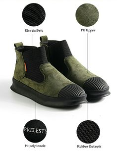 US $28.48 <Click to buy> Prelesty Brand High Quality Vintage Men Winter Warm High Top Men's Casual Shoes Breathable Classic Sock Shoe Design