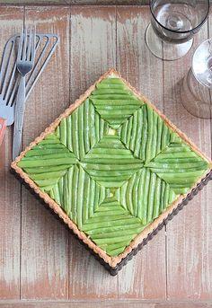 Délices d'Orient: Tarte aux sarrasin, flan à la féta et haricots ver...