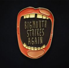 Big Mouth with Lucky Teeth! Morrissey / The Smiths inspired soft enamel pin This…