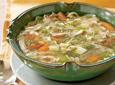 Chicken Noodle Soup Recipe - KitchenDaily