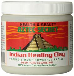 Bentonite clay for facials, acne, allergies, insect bites, detox bath, oral health, internal cleansing and more. click photo to get bentonite clay