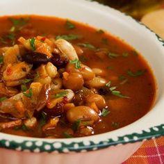 Four Bean Soup Recipe