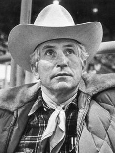 Jim Shoulders, owner of Tornado, is pictured in 1980 at the National Finals Rodeo in Oklahoma City.