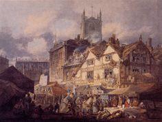 Joseph Mallord William Turner, Staffordshire