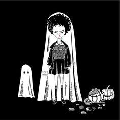 "47 Beğenme, 5 Yorum - Instagram'da Çiğdem Kurt (@cidem_k): ""Stranger Things / Eleven . . #illustrations #blackwork #inkdrawing #illustrate #illustration…"""
