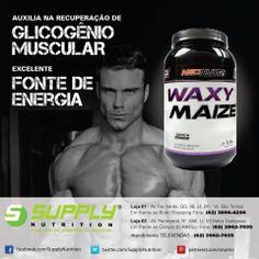 O Waxy Maize da NeoNutri é um suplemento alimentar proveniente do amido do milho ceroso. Ele possibilita sua quebra em diversos pontos ao mesmo tempo, facilitando a digestão do amido e o fornecimento de energia muito mais rápido quando comparado à dextrose e a maltodextrina, mas sem provocar o pico de insulina. (Fonte: http://homensquesecuidam.com/2012/06/o-que-e-maxy-waize.html)