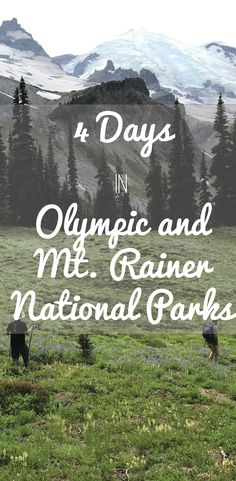 days hiking in Olympic National Park and Mt. Rainer National Park 4 days hiking in Olympic National Park and Mt. Rainer National Park 4 days hiking in Olympic National Park and Mt. Mt Rainier National Park, Grand Teton National Park, Banff National Park, Rocky Mountain National Park, Olympic National Park Camping, Zermatt, Washington State, Nationalparks Usa, Gros Morne