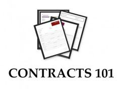CONTRACTS 101: OVERVIEW OF CONTRACTS FOR PHOTOGRAPHERS