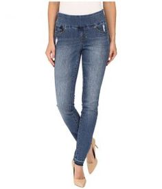 Jag Jeans Nora Pull-On Skinny Comfort Denim in Weathered Blue (Weathered Blue) Women's Jeans
