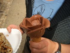 Flor de helado!