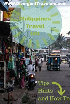 Philippines travel tips, Hints and How to. Explore the Philippines today! It's more fun in the Philippines. http://www.divergenttravelers.com/category/destinations/southeast-asia/philippines/