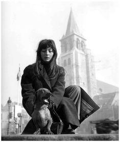 Juliette Gréco fotografiada por Robert Doisneau
