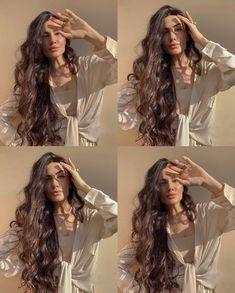 Long Curly Hair, Curly Hair Styles, Natural Hair Styles, Summer Hairstyles, Pretty Hairstyles, Cut My Hair, Hair Cuts, Cabelo 3c 4a, Aesthetic Hair