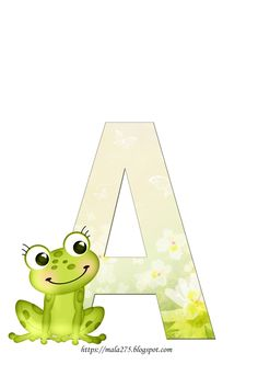 Frog Crafts, Pikachu, Alphabet, Crafts For Kids, Printables, Letters, Frogs, Fictional Characters, My Love