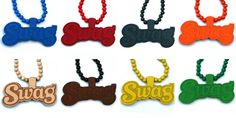 Wood Junkie Necklace Swag - Urban Classics-Shop.nl