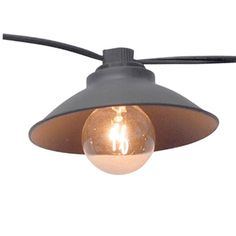 Smith & Hawken® Metal Pendant String Lights (10ct) .Opens in a new window