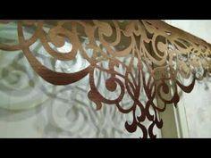 ПОШИВ ШТОР. Изготовление комбинированного ламбрекена-бандо. Еще не готовы мягкие детали. - YouTube